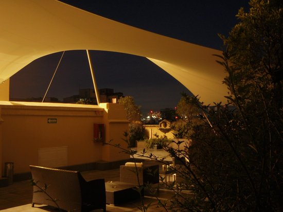 Hampton Inn & Suites Mexico City - Centro Historico : The roof terrace