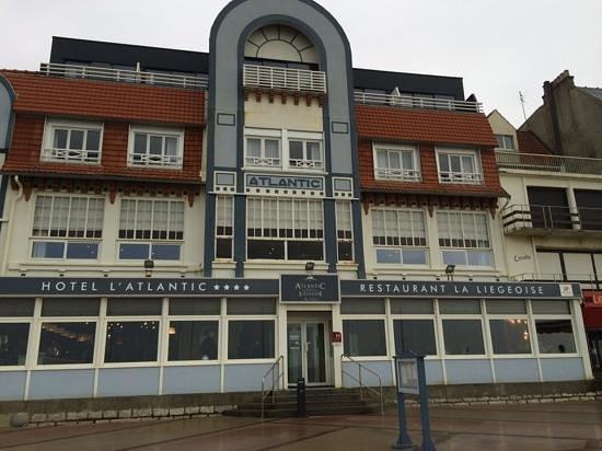 Restaurant La Liegeoise : hotel Atlantic. La Liegeoise upstairs, l'Aloze downstairs