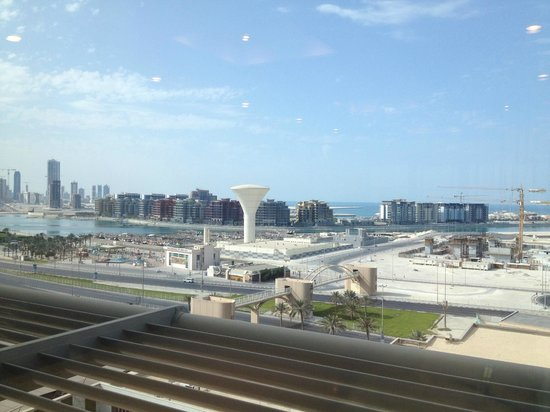 InterContinental Regency Bahrain: View from rooftop pool