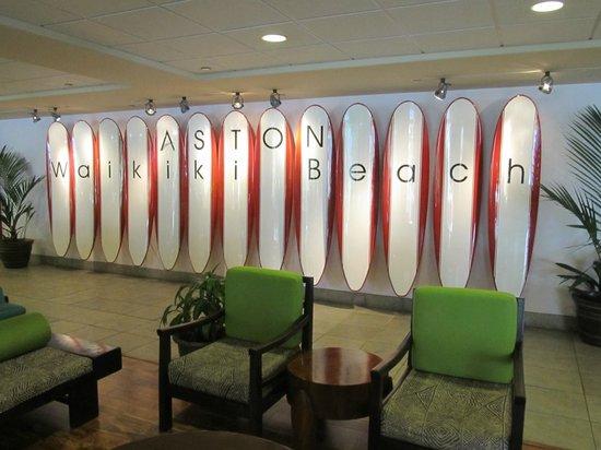 Aston Waikiki Beach Hotel: Arrival area