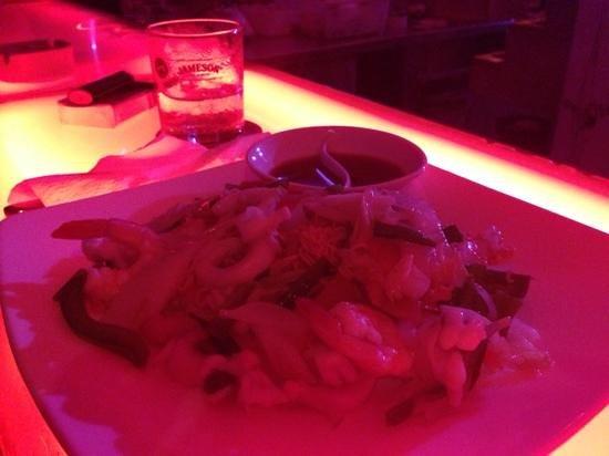 Sankara Beach Bar and Restaurant: Seafood noodles
