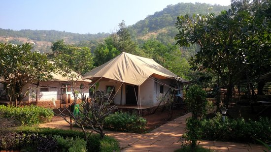 Empower Activity Camp: tent outlook