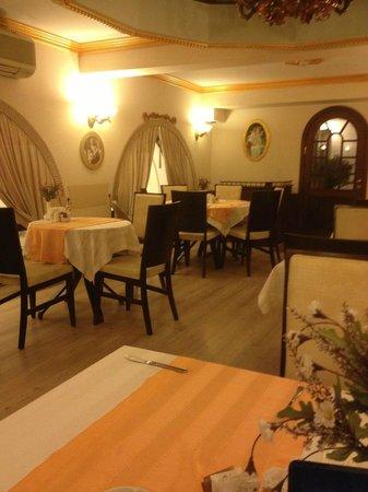 Oglakcioglu Park Boutique Hotel : Restaurant upstairs