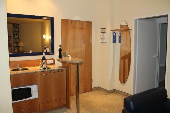 Starlight Suiten Hotel: Bar area
