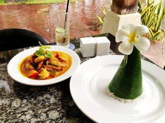 Sun Cafe: The shrimp curry.