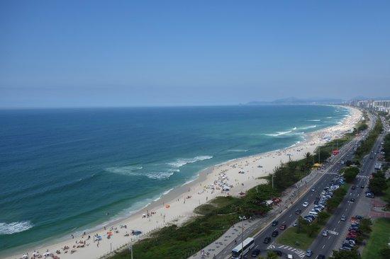 Windsor Barra: 17階からの眺めは最高です!