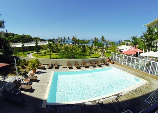 Hilton Noumea La Promenade Residences: view from the 1st floor
