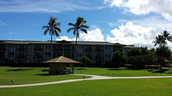 Westin Princeville Ocean Resort Villas: 部屋からの眺め