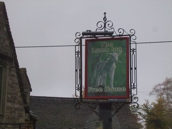 The Lamb Inn: the lamb