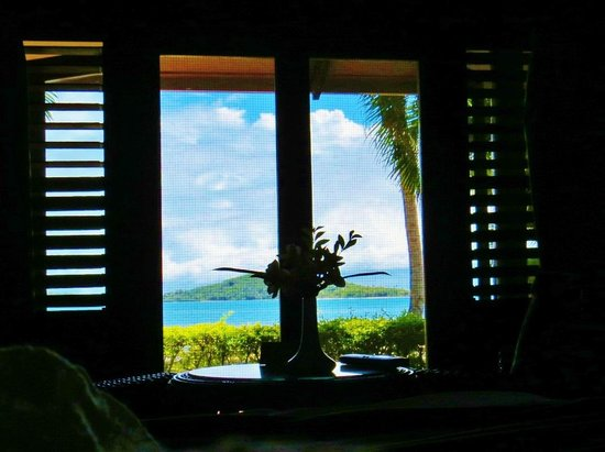 Wananavu Beach Resort : View from the bed