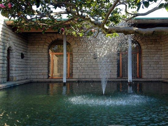 Shizuoka City Serizawa Keisuke Art Museum: 中庭の噴水