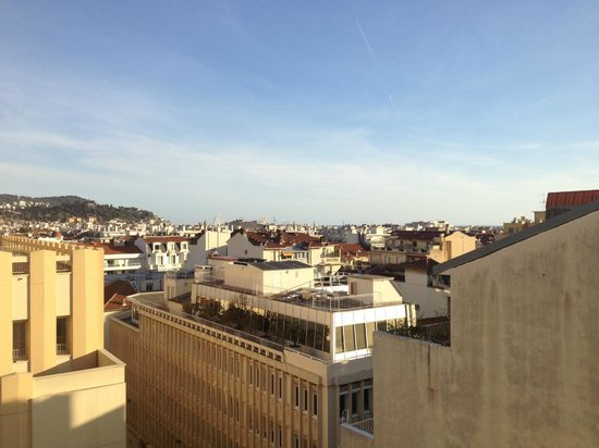 BEST WESTERN Hotel Riviera by HappyCulture : Udsigt over Nice retning SE