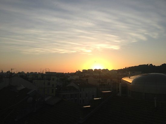 BEST WESTERN Hotel Riviera by HappyCulture: Solnedgang retning SW