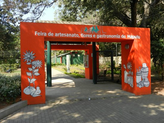 Maputo, Mozambique: FEIMA entrance