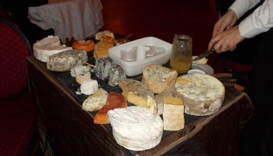 Restaurant Hotel de la Paix : le chariot des fromages