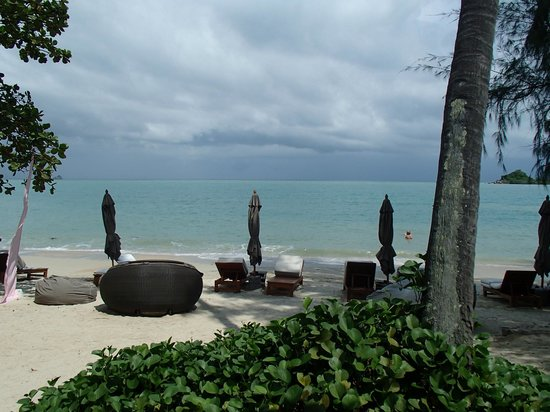 SALA Samui Resort And Spa: View from restaurant