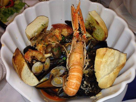 Trattoria Da Dante: Zuppa di pesce.