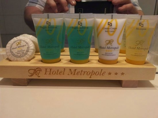 Hotel Metropole Bellagio : BATHROOM