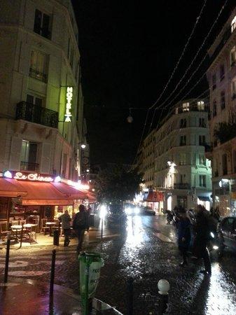 Hotel Audran: Hotel wieczorem