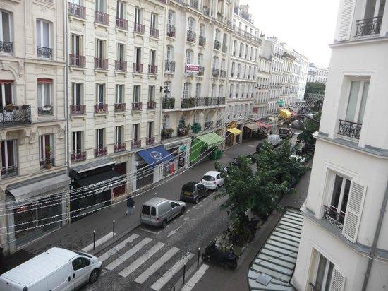 Hotel Audran: Widok z okna