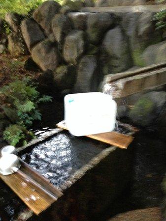 Kakitagawa Park: 水汲み場
