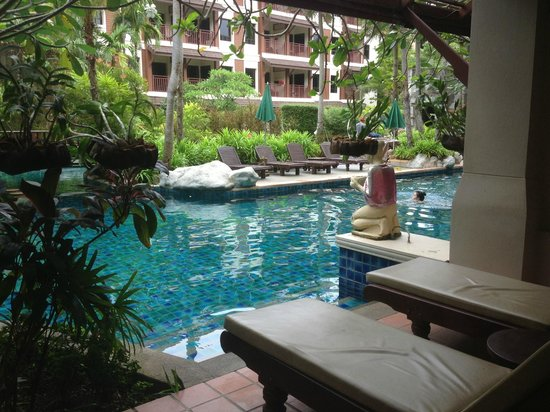 Kata Palm Resort & Spa: View from Deluxe Pool Access room