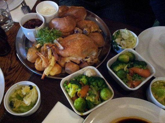 The Windsor Castle: Roasted Chicken