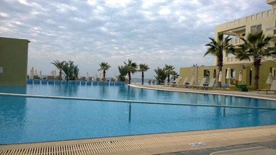 Capital Coast Resort & Spa: view from pool bar