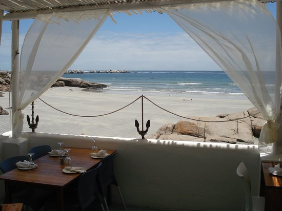 """Abalone House & Spa : View from the Restaurant """"Gaaitjie"""""""