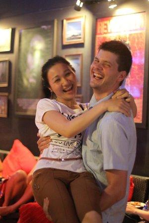 Red Sky Bar & Restaurant: hạnh phúc
