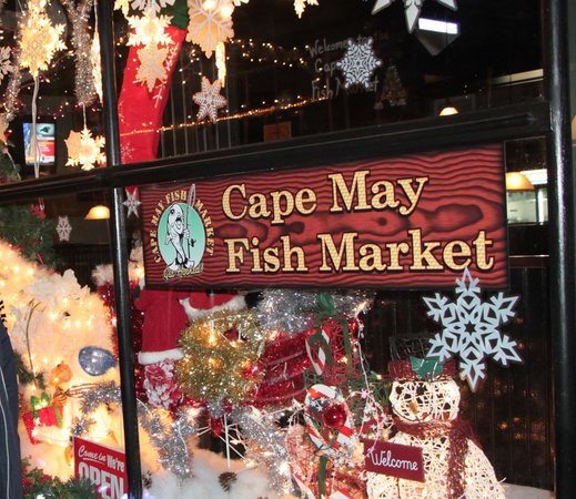 Cape May Fish Market: Welcome