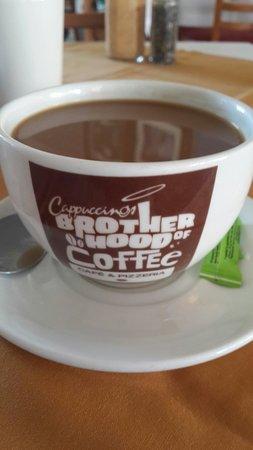 Cappuccinos - George: Grande coffee