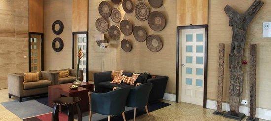 Hotel Continental: Recepção