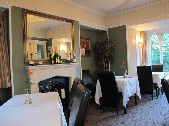 Cedar Manor Hotel and Restaurant: The dining room