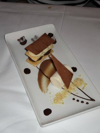 Cedar Manor Hotel and Restaurant : A quite outstanding dessert