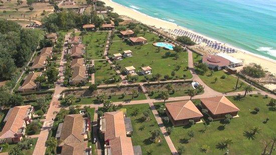 Costa Rei, إيطاليا: veduta dall'alto dell'hotel