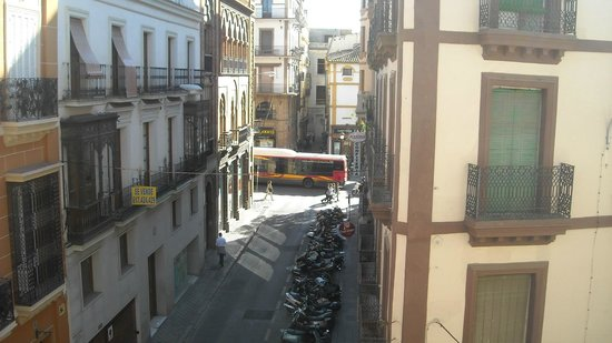 Pension Nuevo Pino: вид из окна