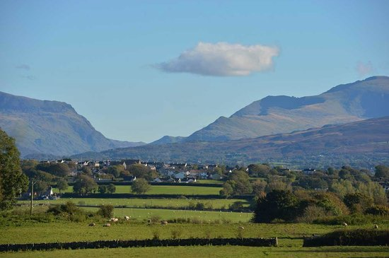 View From The Outbuildings across Snowdon