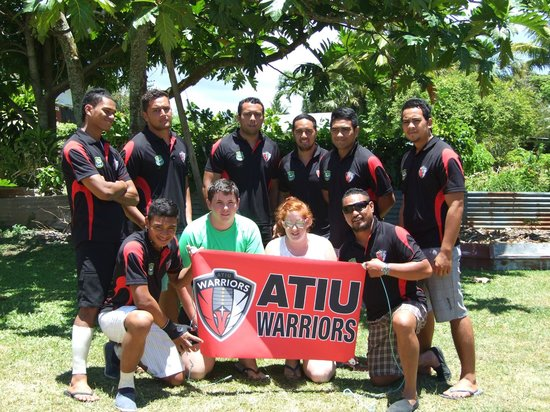 The Black Pearl at Puaikura: atiu rugby 7s team