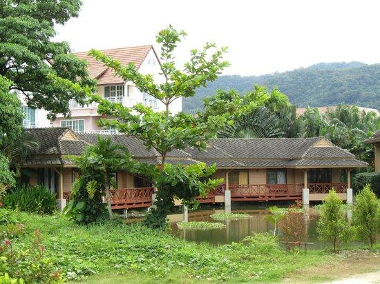 Phuket Chaba Hotel: вид с балкона номера