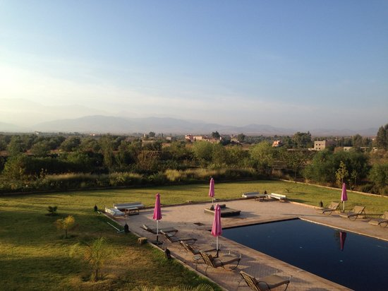 Kasbah Caracalla: Perfect views