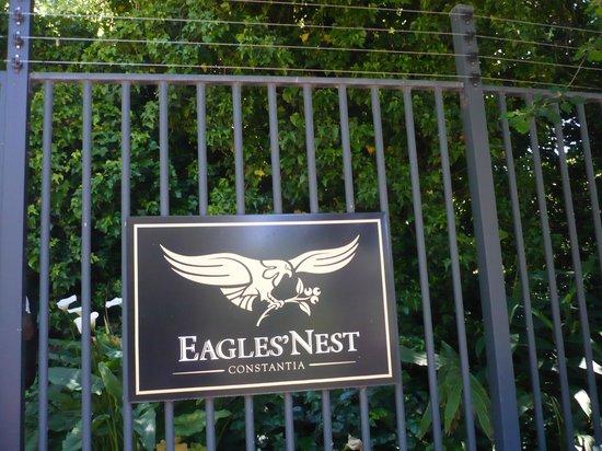 Eagles Nest Wine: cartello ingresso vineria