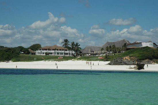 Garoda Resort : Resort visto dal mare