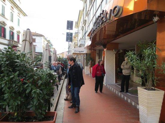 Hotel Massimo D'Azeglio: La terrasse