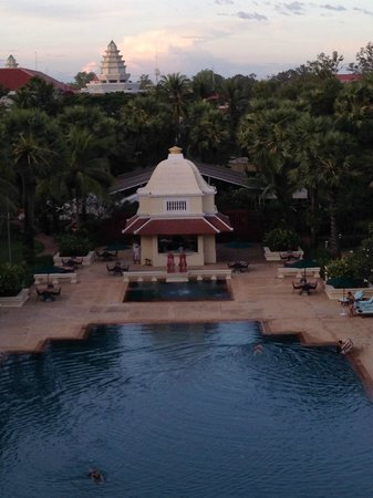 Raffles Grand Hotel d'Angkor: view from room