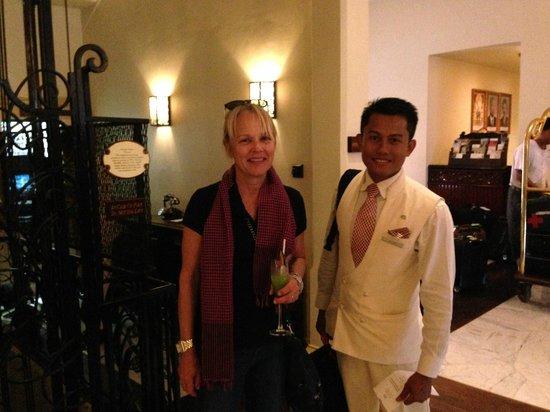 Raffles Grand Hotel d'Angkor: reception