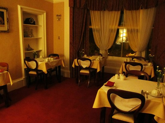 Annfield Guest House: comedor