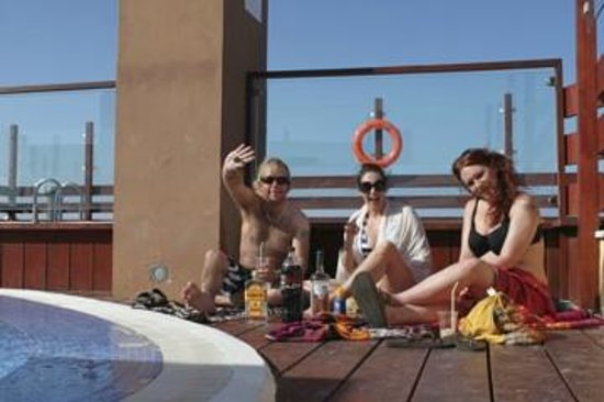 Hotel Costa Caleta : roof top pool