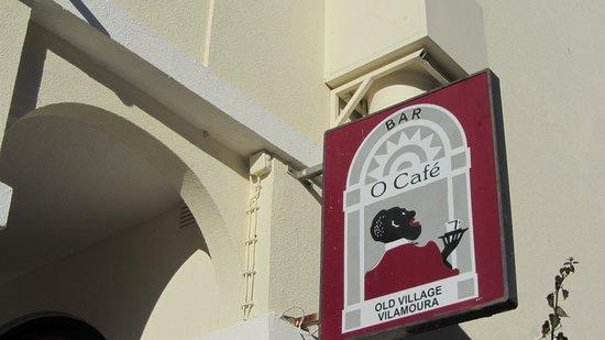 Bar O Cafe: sign