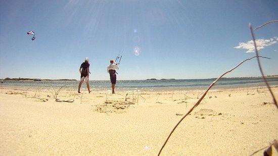 West Oz Kiteboarding: Perfect teaching location